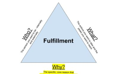 "The Triangle of Fulfillment (Part 3 of 3) – The ""Why?"""